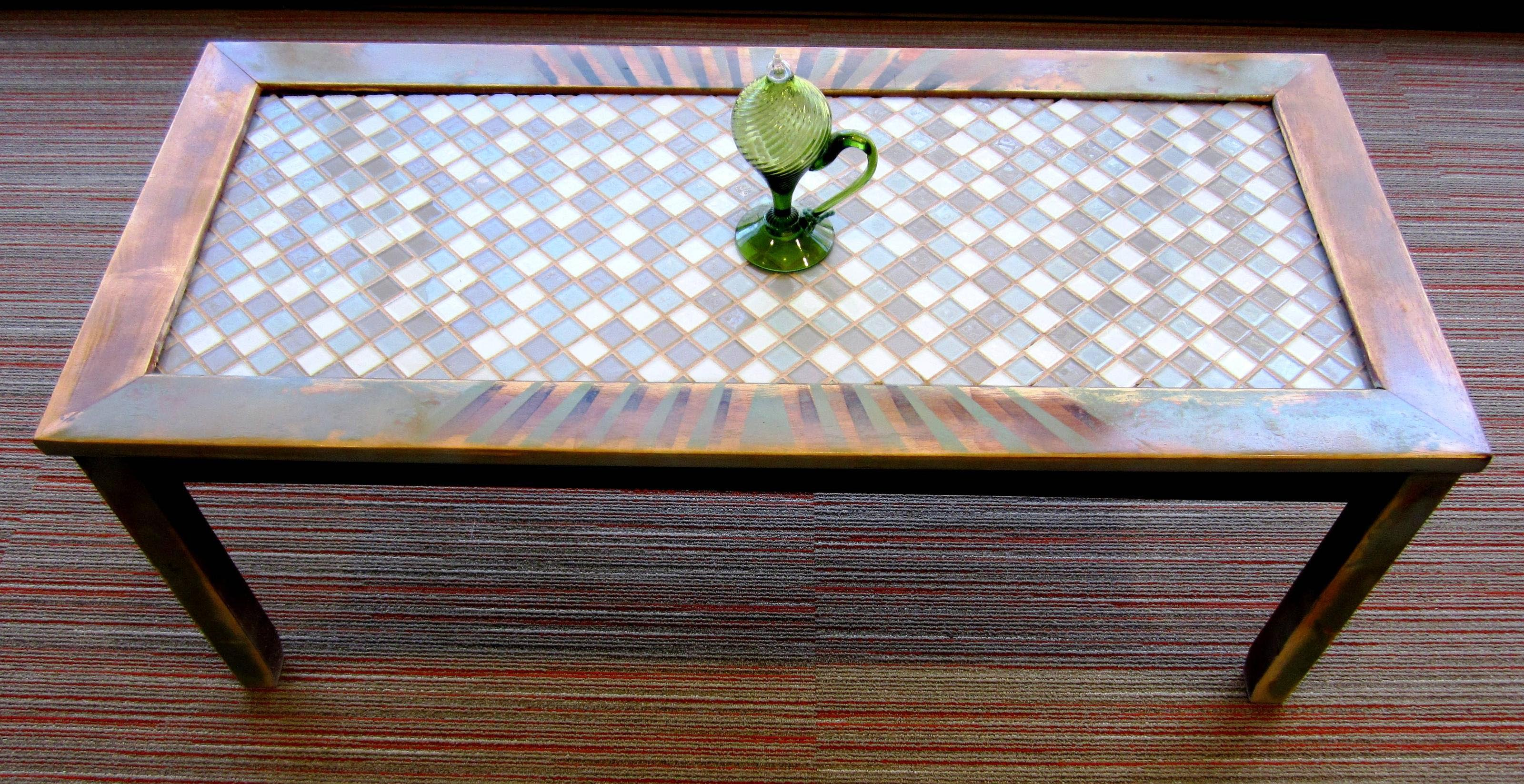 Idea Coffee Table Mosaic Coffee Table To Make The Best Interior Coffee Table