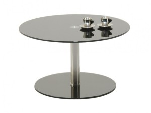 Glass Circular Coffee Table