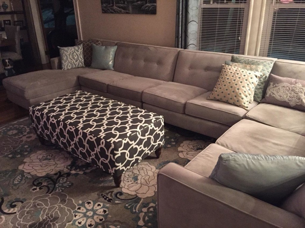 How to Make an Upholstered Ottoman Coffee Table