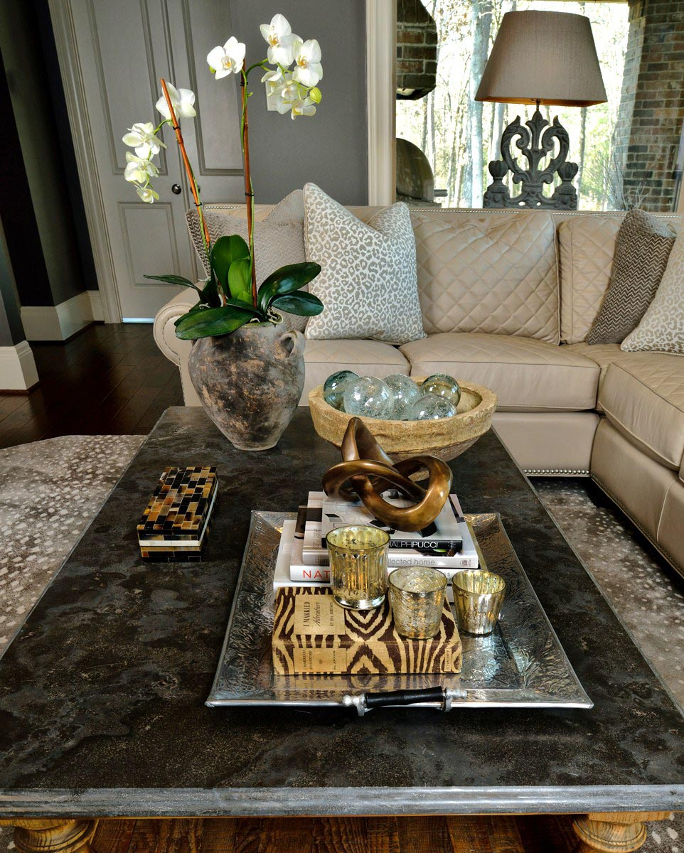 Large Coffee Table Tray Design Ideas