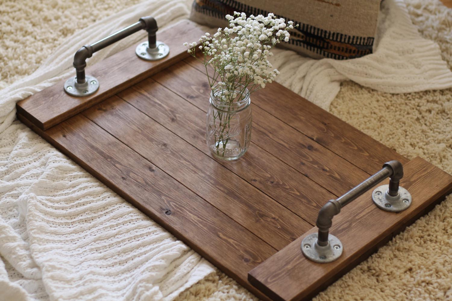 Large Coffee Table Trays