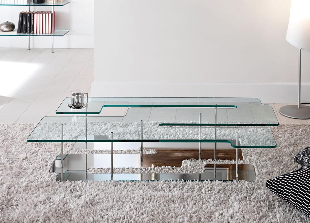 Large glass coffee table coffee table design ideas for Large low coffee table
