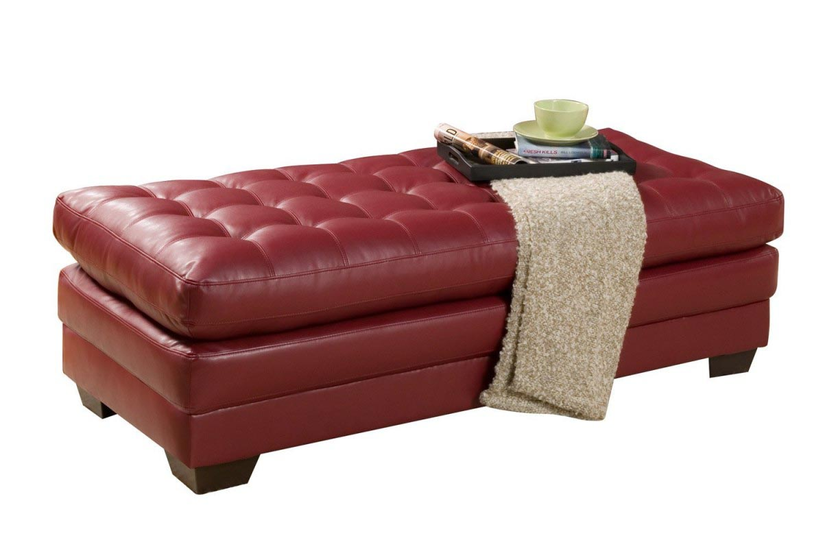 Large Upholstered Ottoman Coffee TableCoffeTable