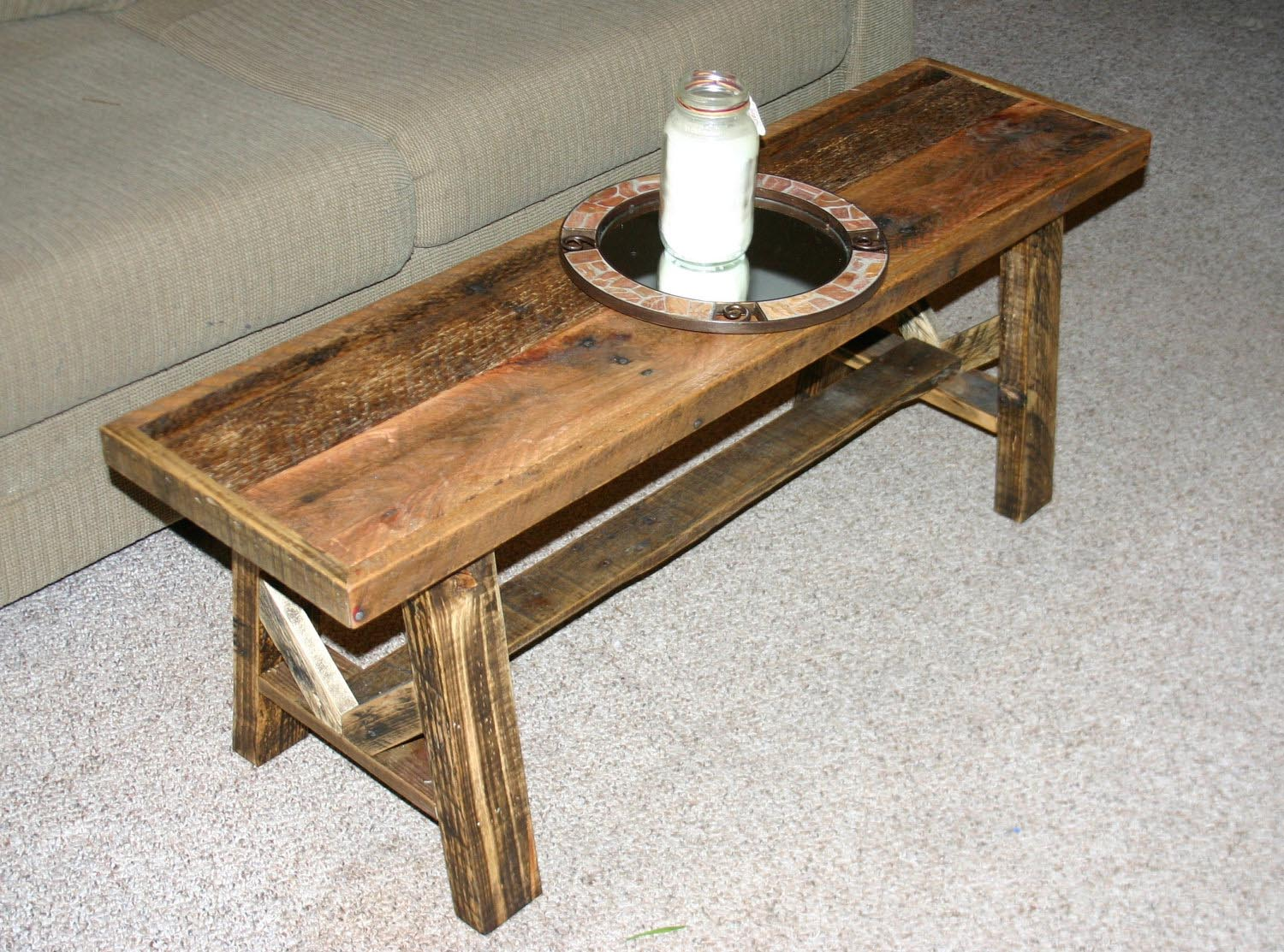 Low Narrow Coffee Table Design Ideas