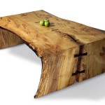 Maple Slab Coffee Table