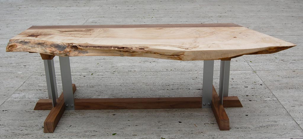 Maple Wood Coffee Table