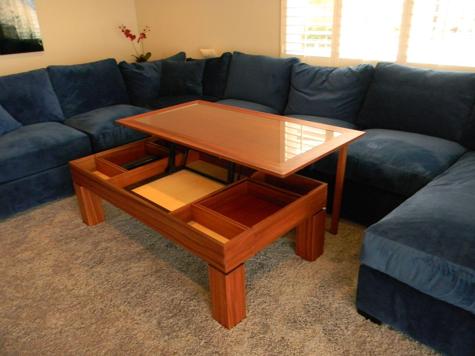 get comfort with a mission style coffee table | coffee table