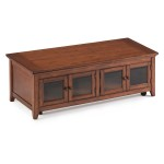 Mission Style Coffee Table with Drawers
