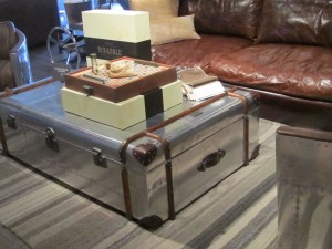 Modern Silver Coffee Table