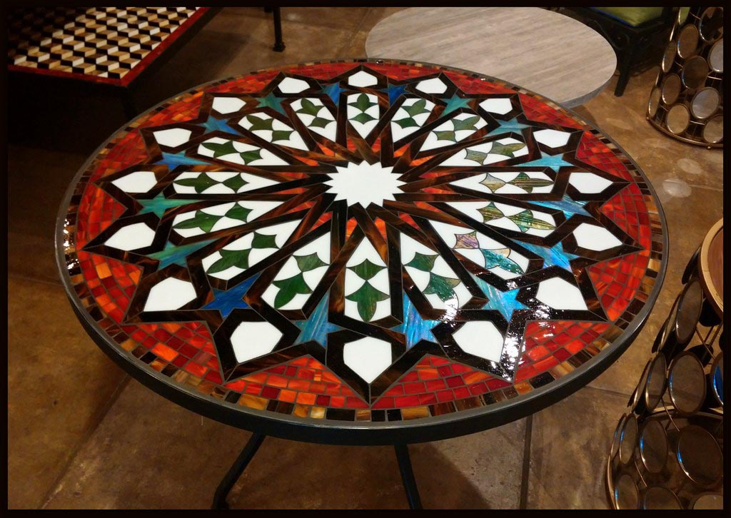 Tags Round Tables Mosaic