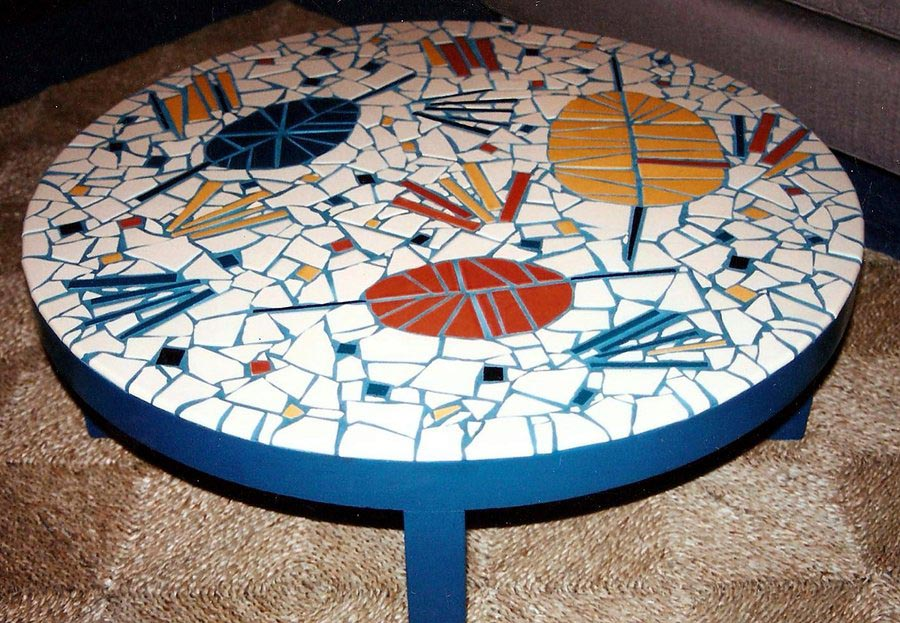Mosaic Tound Coffee Table