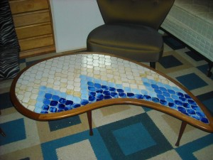 Mosaic Tile Coffee Table