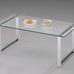 Narrow Glass Coffee Table