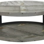 Oversized Round Coffee Table