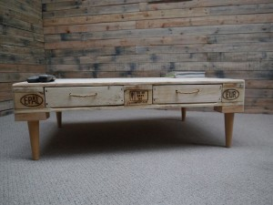 Retro Design Coffee Table