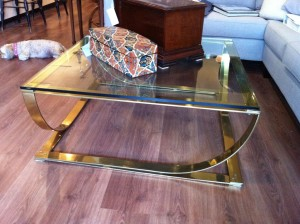 Retro Glass Coffee Table