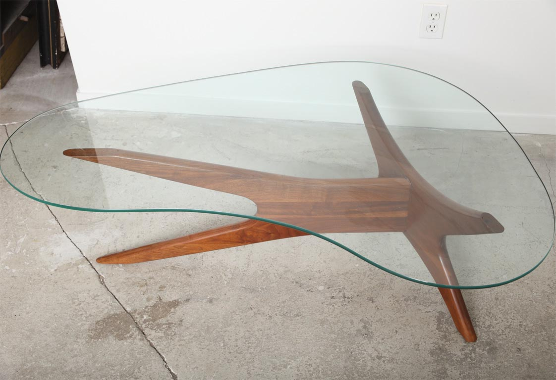 Retro Kidney Shaped Coffee Table