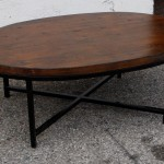 Retro Oval Coffee Table