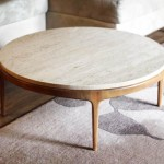 Retro Round Coffee Table