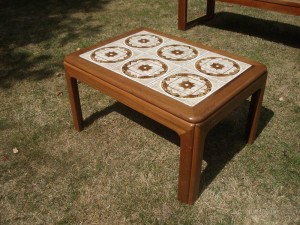 Retro Tiled Coffee Table