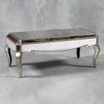 Silver Glass Coffee Table