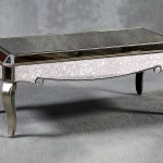 Silver Mirror Coffee Table