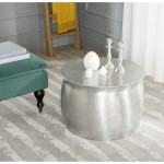 Silver Round Coffee Table