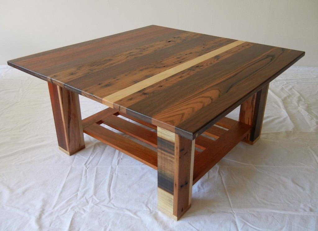 Solid Maple Coffee Table