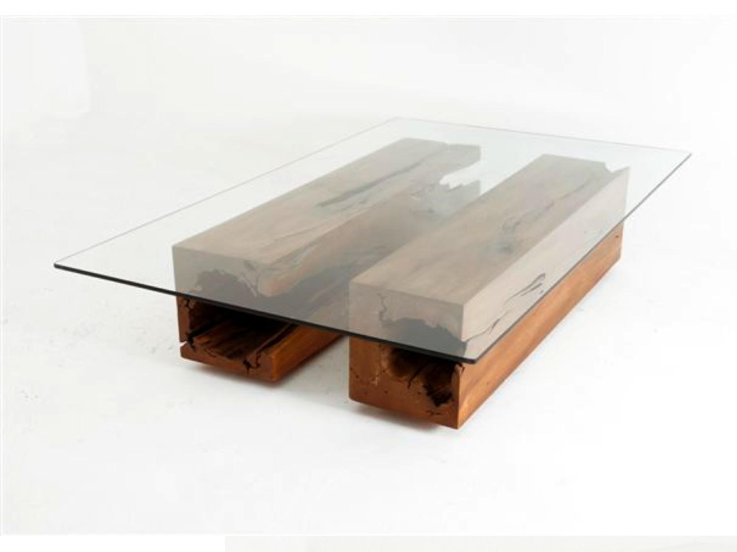 Unique Coffee Table Is Victory Over The Boring Interior