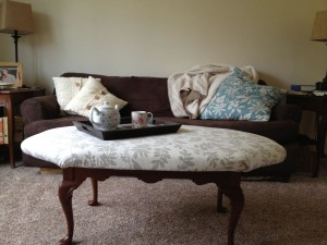 Upholstered Coffee Table DIY
