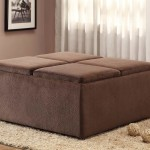Upholstered Coffee Table Ottoman