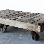 Vintage Cart Coffee Table