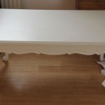 White Retro Coffee Table