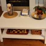 White Vintage Coffee Table