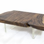 Acacia Wood Slab Coffee Table