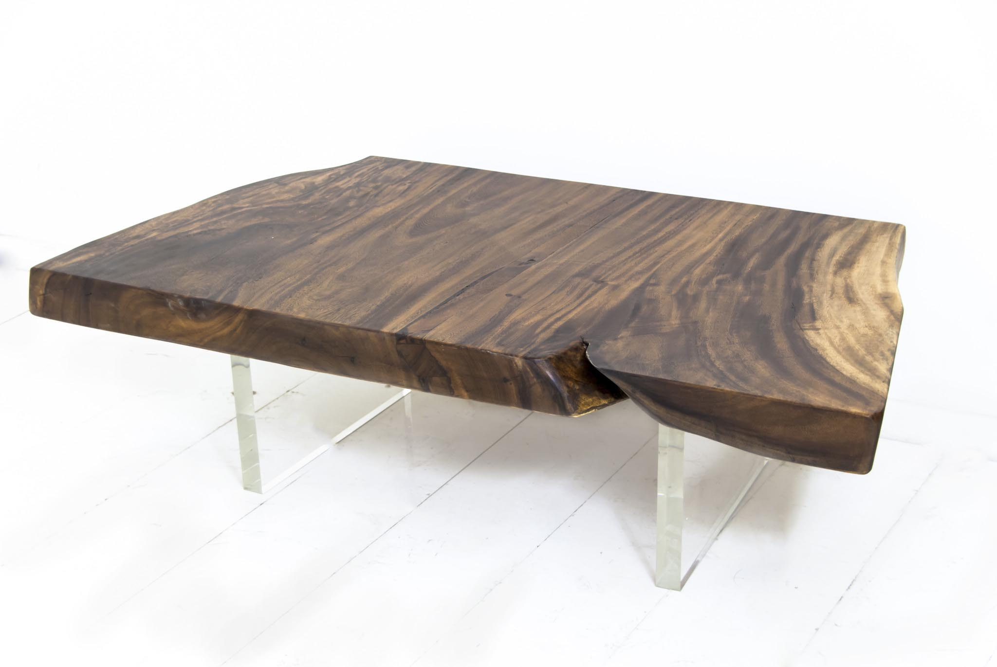 Acacia wood slab coffee table coffee table design ideas for Wood slab coffee table