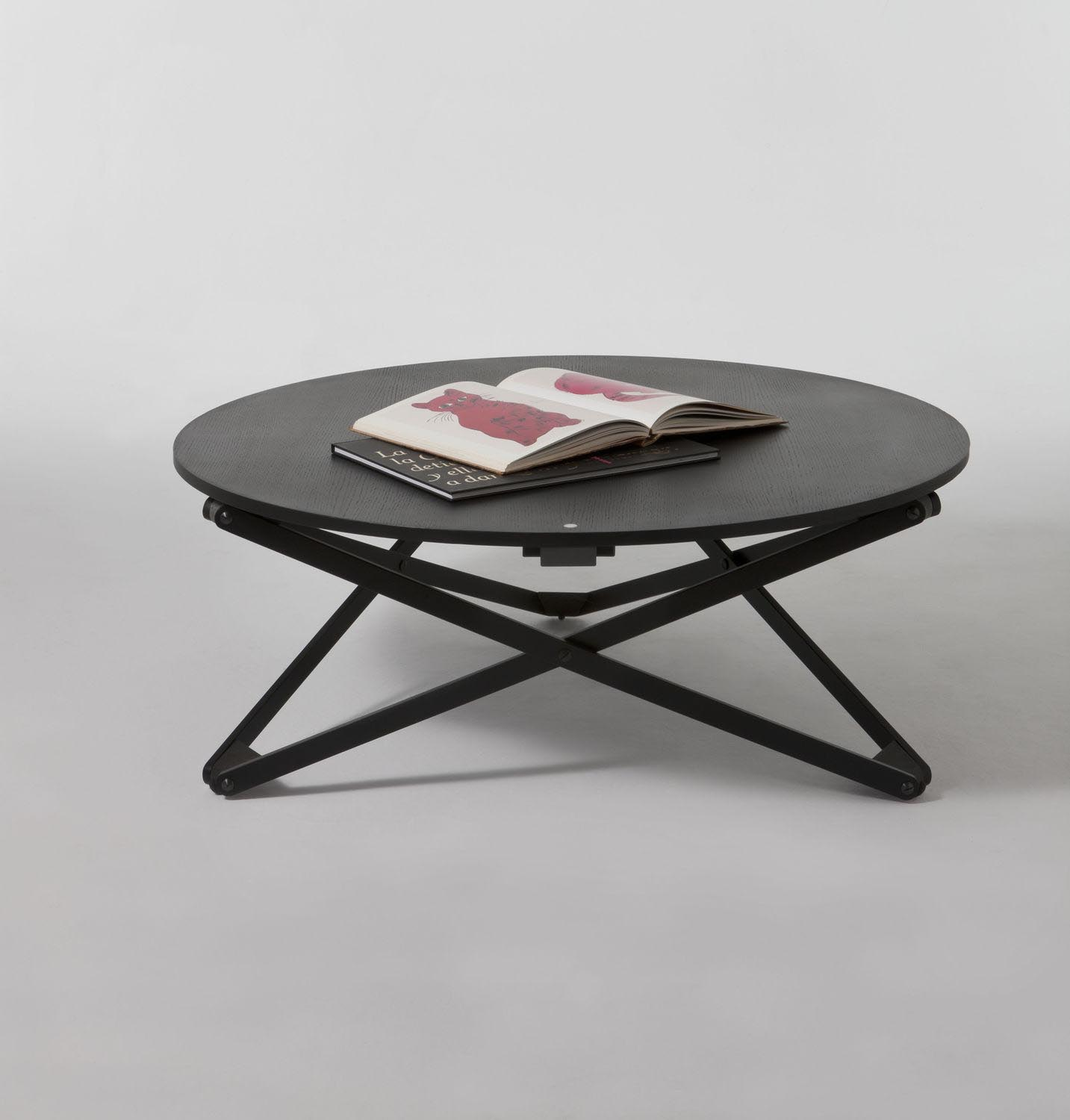 Round Coffee Table With Adjustable Height: Adjustable Height Coffee Table