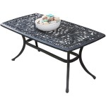 Aluminum Patio Coffee Tables