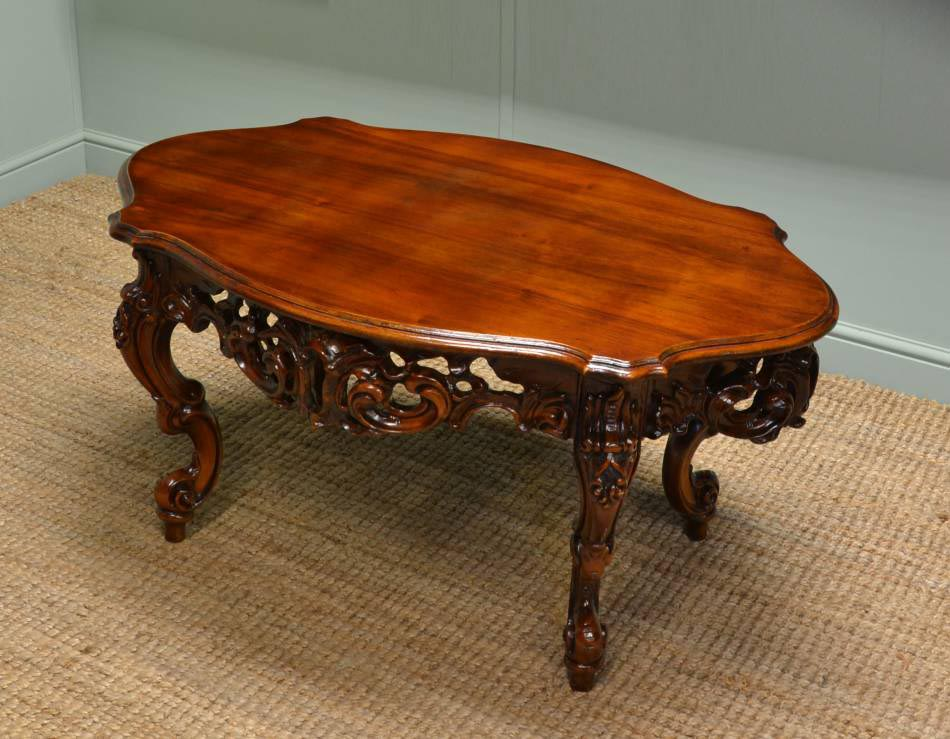 Antique Mahogany Coffee Table