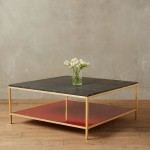 Black and Gold Coffee Table
