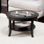 Black Circle Coffee Table