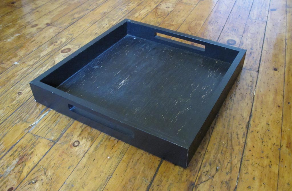 Blue Coffee Table Tray