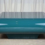 Blue Lacquer Coffee Table