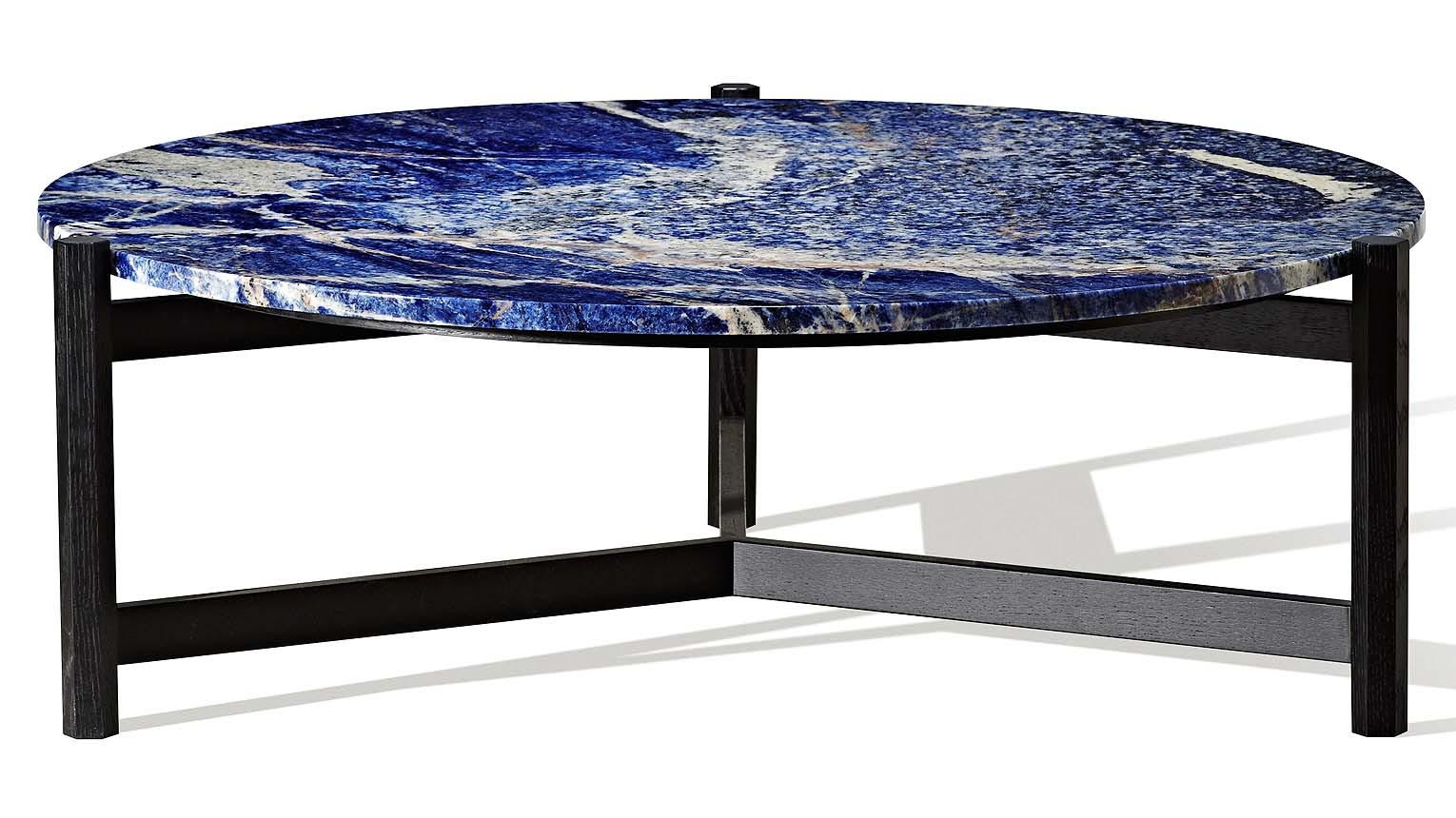 Blue Marble Coffee Table