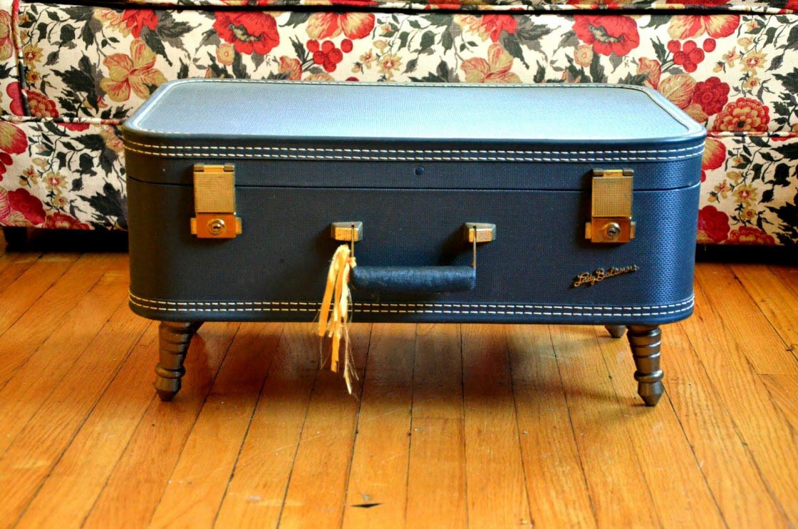 Blue Trunk Coffee Table