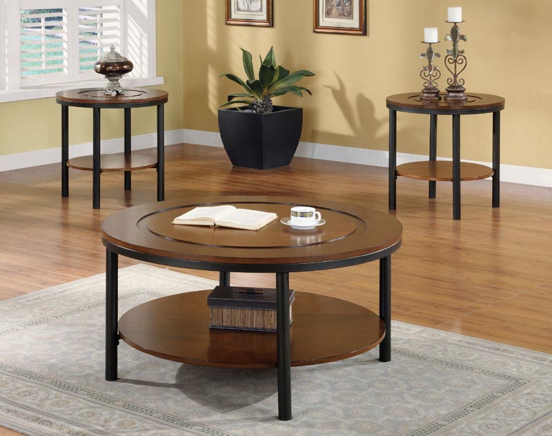 Circle Coffee Table Set