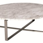 Circle Marble Coffee Table