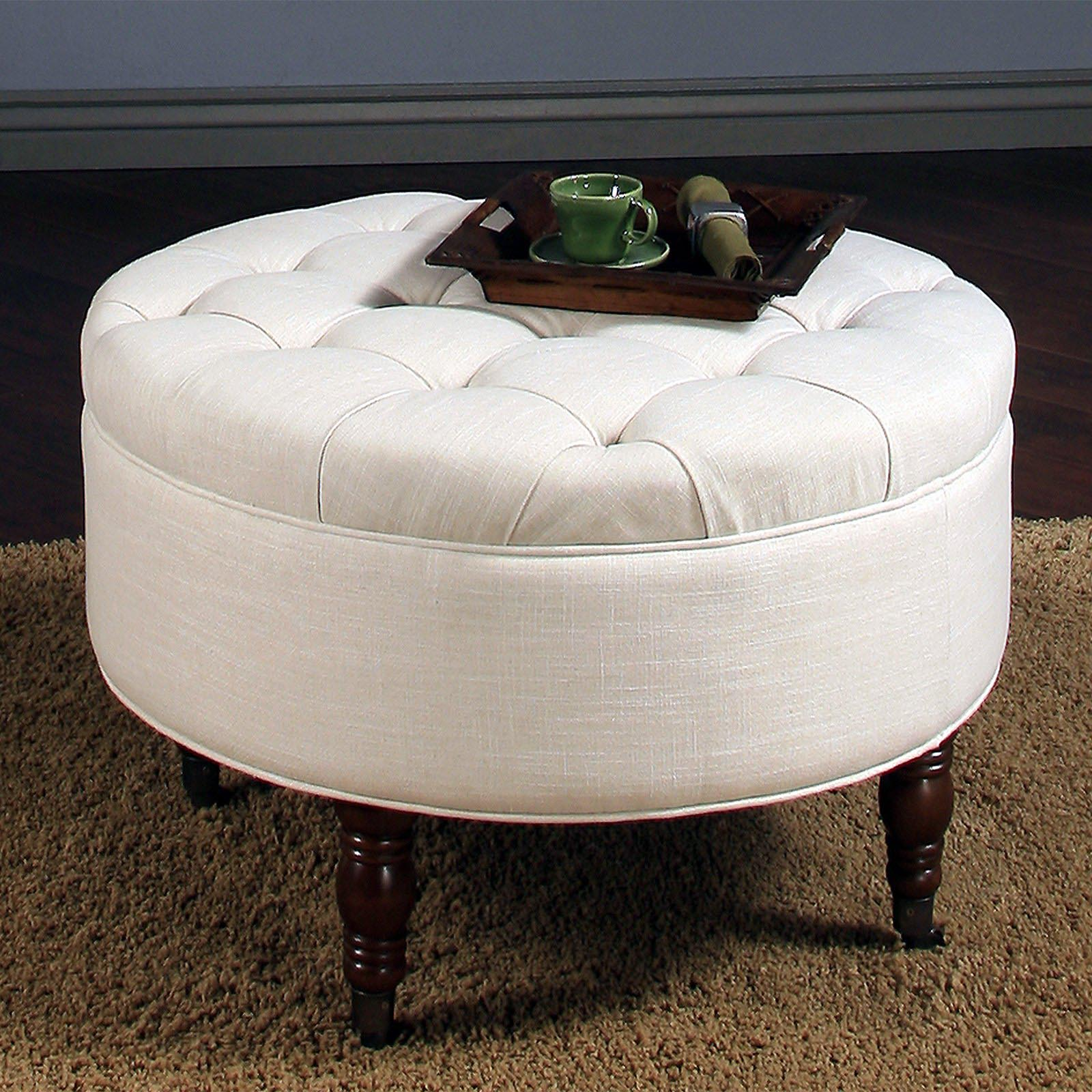 Ottoman Coffee Table With Sliding Wood Top: Significant Element Of The