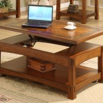 Coffee Table Adjustable Height Lift Top