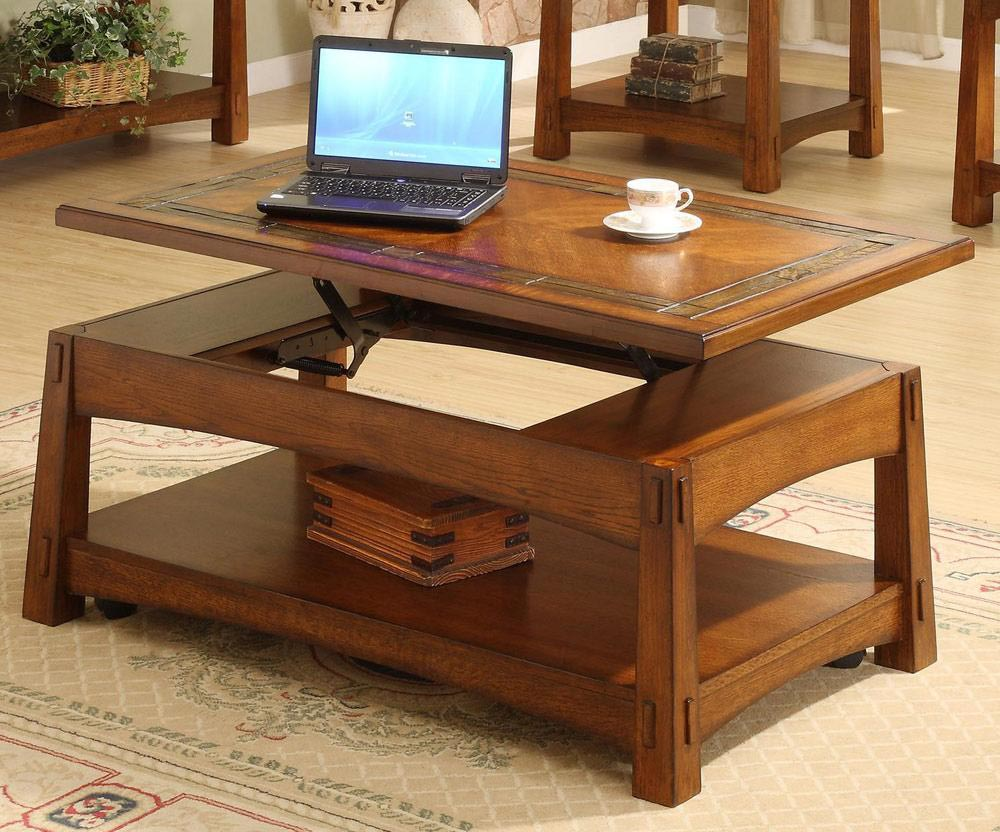 Beau Coffee Table Adjustable Height Lift Top